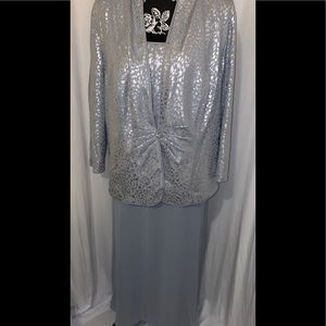 Dress with Jacket. Great for a Wedding/Banquet.